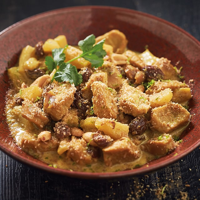 Bouchée Végétale au curry