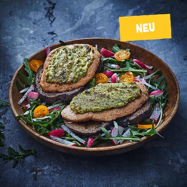 Veggie Pieces ''L'' met gebakken aubergine